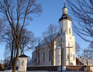Kościół prafialny w Knychówku
