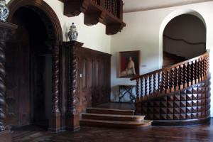 Hall w Pałacu w Korczewie